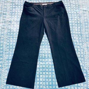 Gap Navy Pinstriped Perfect Trousers